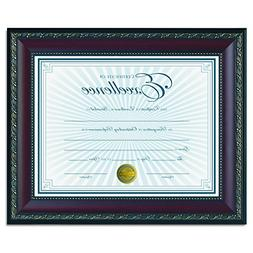1 Pack Of Home Document Diploma Certificate Walnut Frame 8-1
