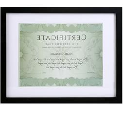 11 x 14 Picture Frames Document Frame 8.5x11 for Wall mounti