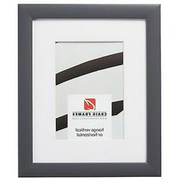 Craig Frames 23247635 24x32 Gray Picture Frame, Matted to Di