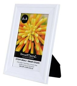 """4 x 6"""" inch White Matted Picture / Photo Frame by Special Mo"""