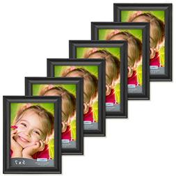 Icona Bay 5x7 Picture Frames  Wood Photo Frame, Wall Mount a