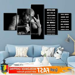 5 piece abstract wall art canvas home