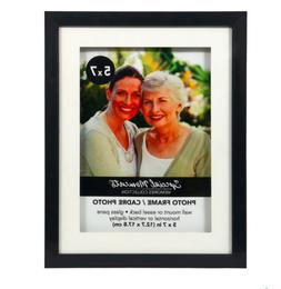"""5 x 7"""" inch Two-Tone Matted Picture Frame Special Moments 3d"""