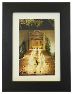 5 x 7 Picture Photo Frame Black, Gray or White Glass 4 x 6 M