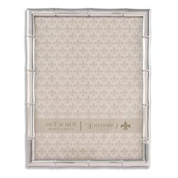 Lawrence Frames 710157 Silver Metal Bamboo Picture Frame, 5