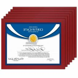 Icona Bay 8.5x11 Diploma Frame , Sturdy Wood Composite Certi