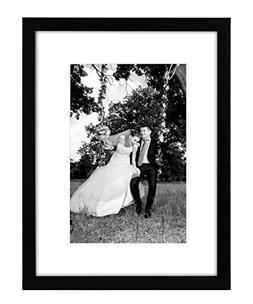 Americanflat 12x16 Black Picture Frame - Display Pictures 8x