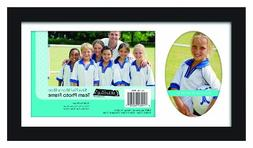 MCS 12.5x7.25 Inch Team Frame with 2 Photo Openings, 5x7 Inc