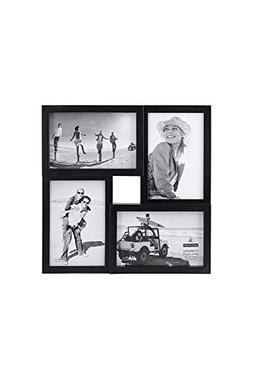 Malden 4x6 4-Opening Matted Collage Picture Frame, Displays