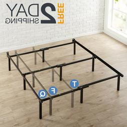 Adjustable Bed Frame Twin to Queen Size Metal For Box Spring