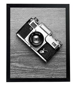 """Americanflat 16x20 Black Picture Frame - 1.5"""" Wide - Smooth"""