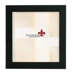 Lawrence Frames Black Wood Picture Frame, Gallery Collection