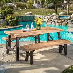 Boracay Outdoor 3-piece Picnic Dining Set by Christopher