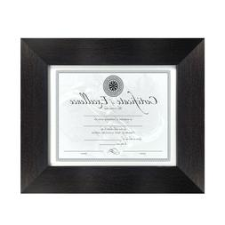 Brushed Black Frame Picture Photo Art Diploma Certificate Fr