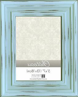 Darice Chateau Distressed Mint Green Painted 5 x 7 Picture F