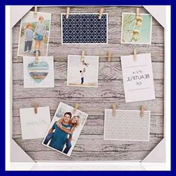 Clip Photo Holder Collage Frame LARGE Picture Display W 12 W