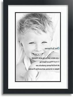 """ArtToFrames Collage Mat Picture Photo Frame  1 11x17"""" Openin"""
