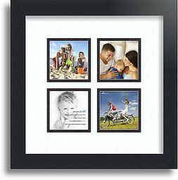 collage mat picture photo frame 4 3x3