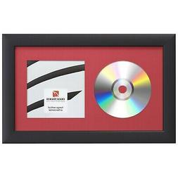 Craig Frames Complete 7x12 CD Display Black Frame with Glass