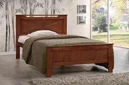 Baxton Studios Demitasse Contemporary Twin-Size Bed