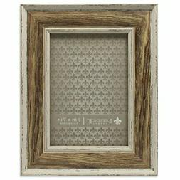 Lawrence Frames Domed Top Weathered Picture Frame, 5 x 7, Wa