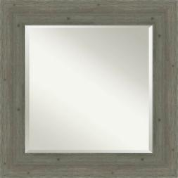 "Amanti Art DSW4094269 27"" Square Beveled Wood Framed Accent"