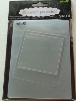 "DARICE EMBOSSING FOLDER - PICTURE OPENING- 4.25"" X 5.75"" -"