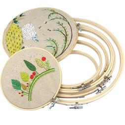 embroidery wooden frame hoop ring cross stitch