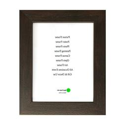 Espresso Brown PS Material Frame Diploma Certificate Photo P