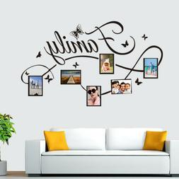 Family Photo Frame Wall Sticker Mural Artist Home Decoration