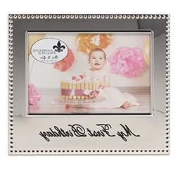 Lawrence Frames 290764 4x6 My First Birthday Picture Frame