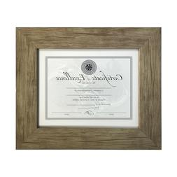 Gray Beige Frame Photo Picture Art Diploma Certificate Frame