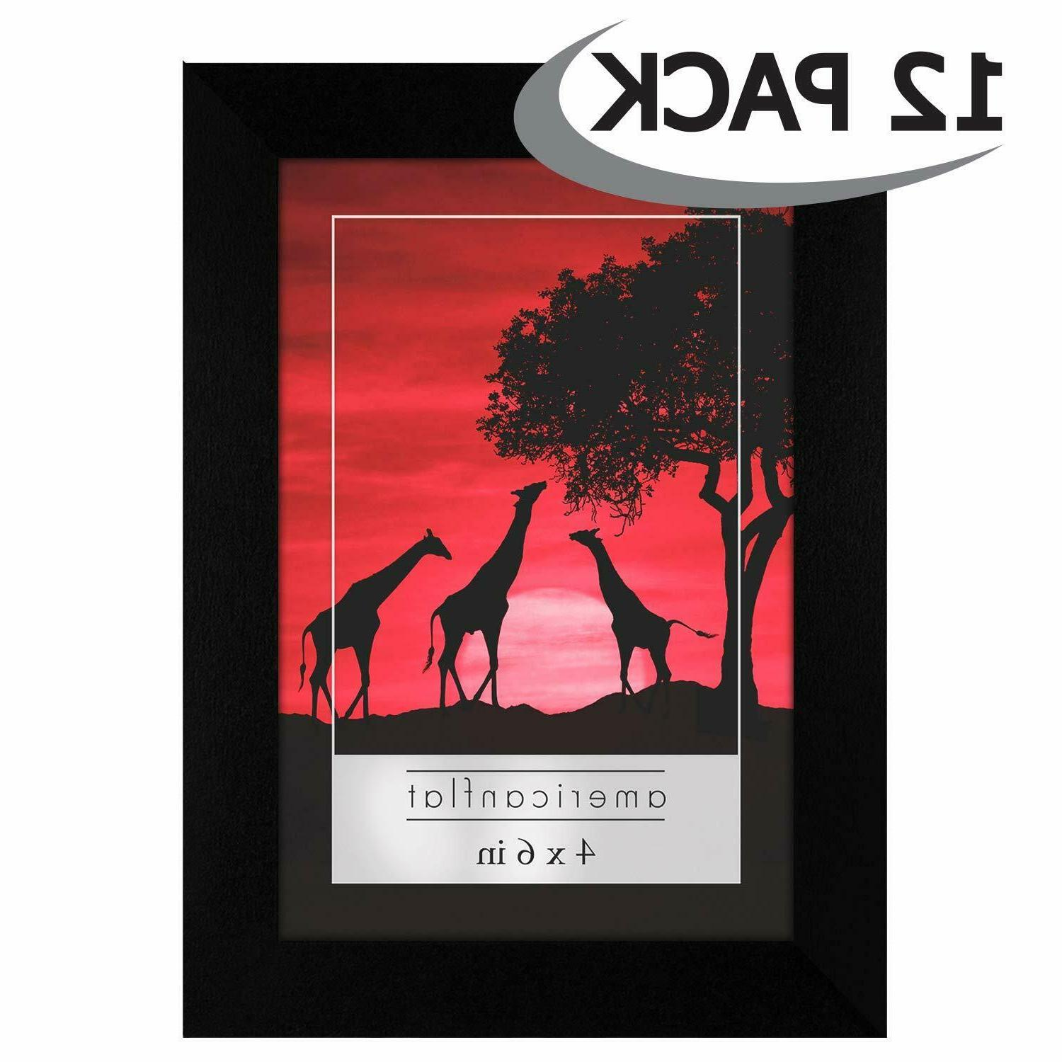 Americanflat 12 4x6 Frames - Display Pictures