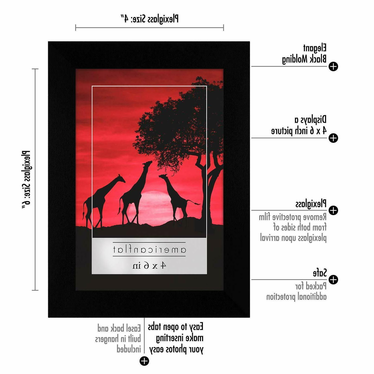 Americanflat - 4x6 Frames Display Pictures Inches