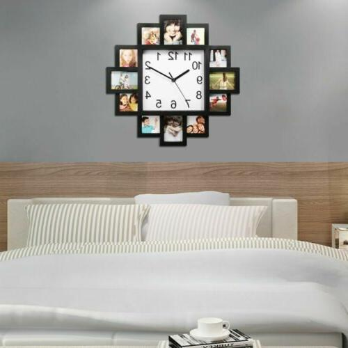 12 Pictures Art Clock Photo Clock Home Hanging