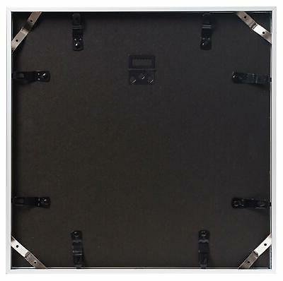 Frametory12x12-inch Square - Silver Frame with