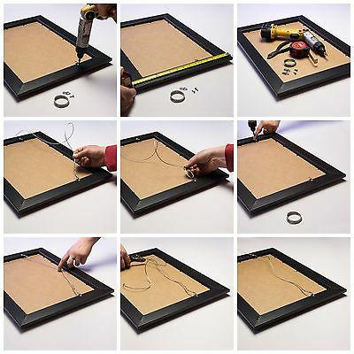 """Craig Frames Picture Frames Poster 1"""" Wide, Contemporary Style"""