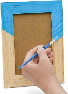 """3 Unfinished Wood Frames for Crafts Painting, 6""""x8"""""""