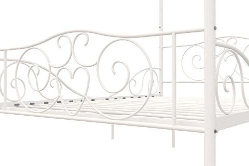 DHP Canopy with Sturdy Full, White