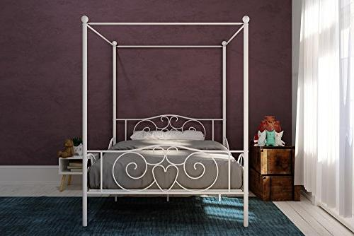 DHP Canopy Bed with Full,