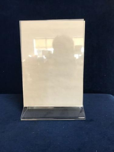 5x7 inch clear picture frame