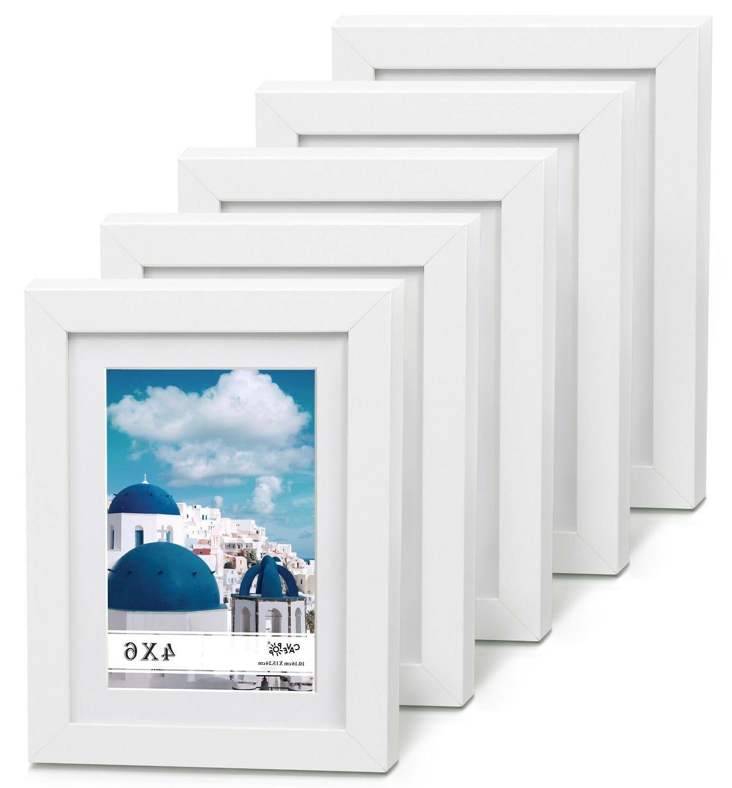 5x7 mat 4x6 picture frame 5 pieces