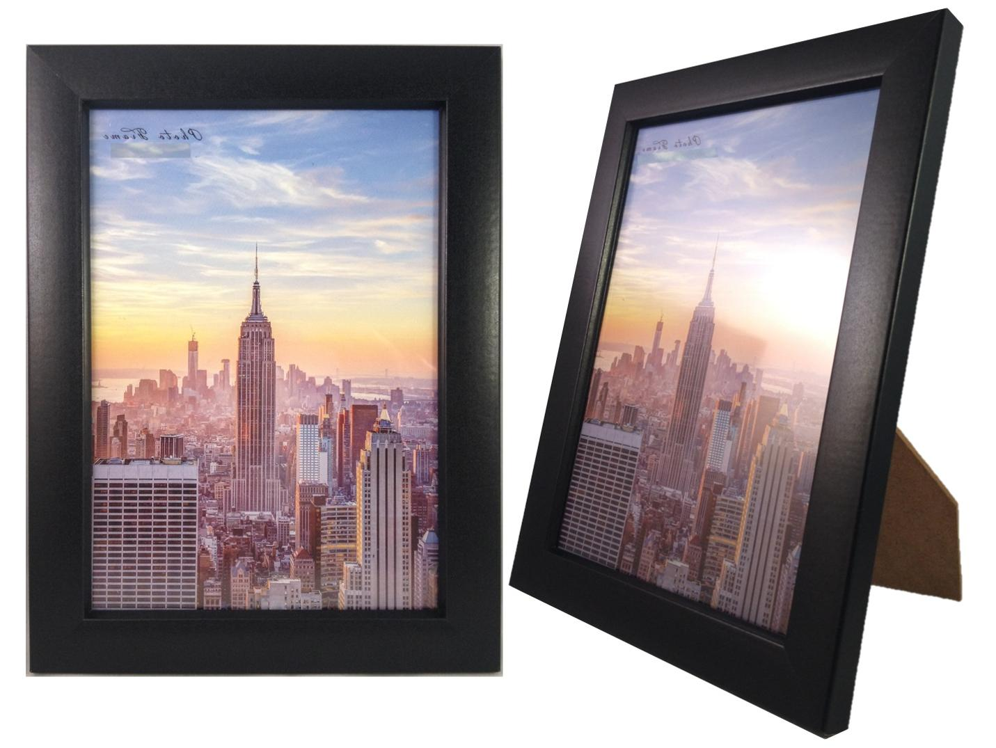 Frame Wood Glass Front, Wall or 1, 3,