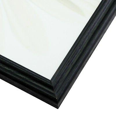 """Craig .75"""" Gloss Black Picture Frames & Poster"""