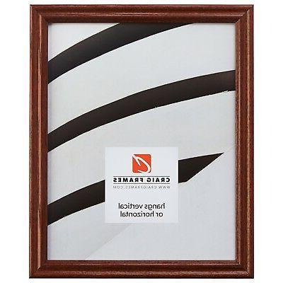 75 traditional walnut brown wood picture frames