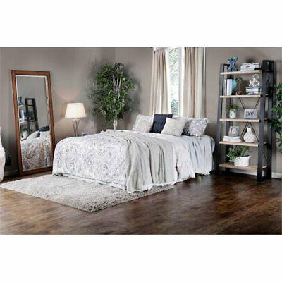 Furniture of King Bed Silver