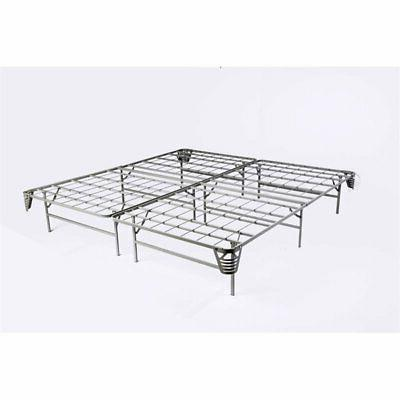 Furniture of King Bed Frame in Silver
