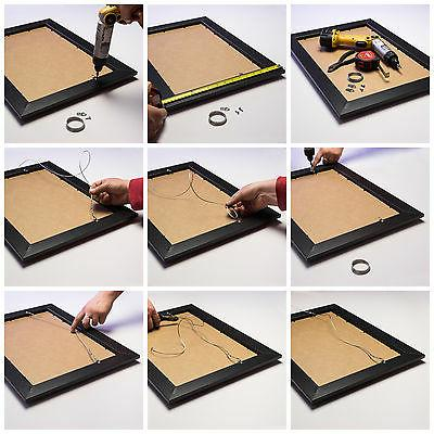 """Craig Frames .75"""" Traditional Walnut Brown Picture Frames"""