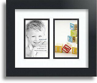collage mat picture photo frame 2 3x5
