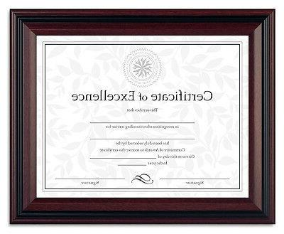 document diploma certificate rosewood frame 8 1